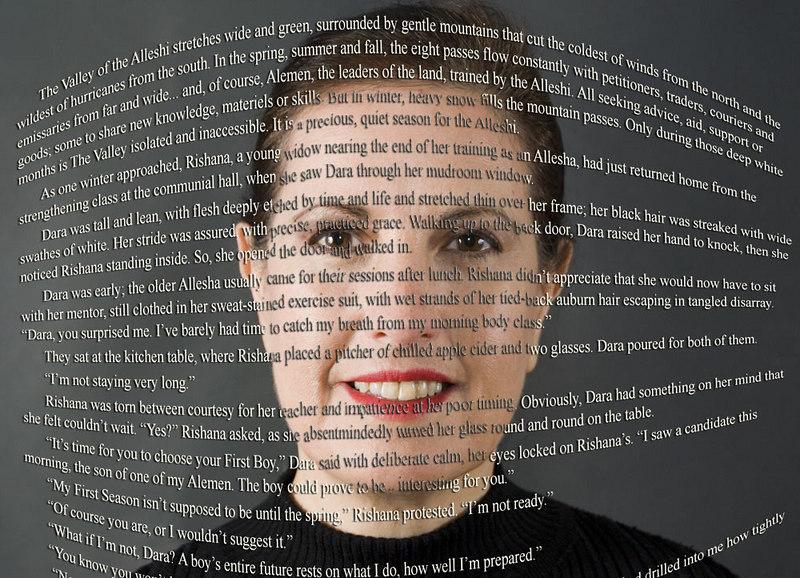Self-portrait: Sally Wiener Grotta, storyteller