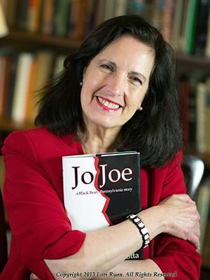 "Sally Wiener Grotta, author of the novel ""Jo Joe"""