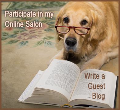 Participate in my online salon - write a guest blog