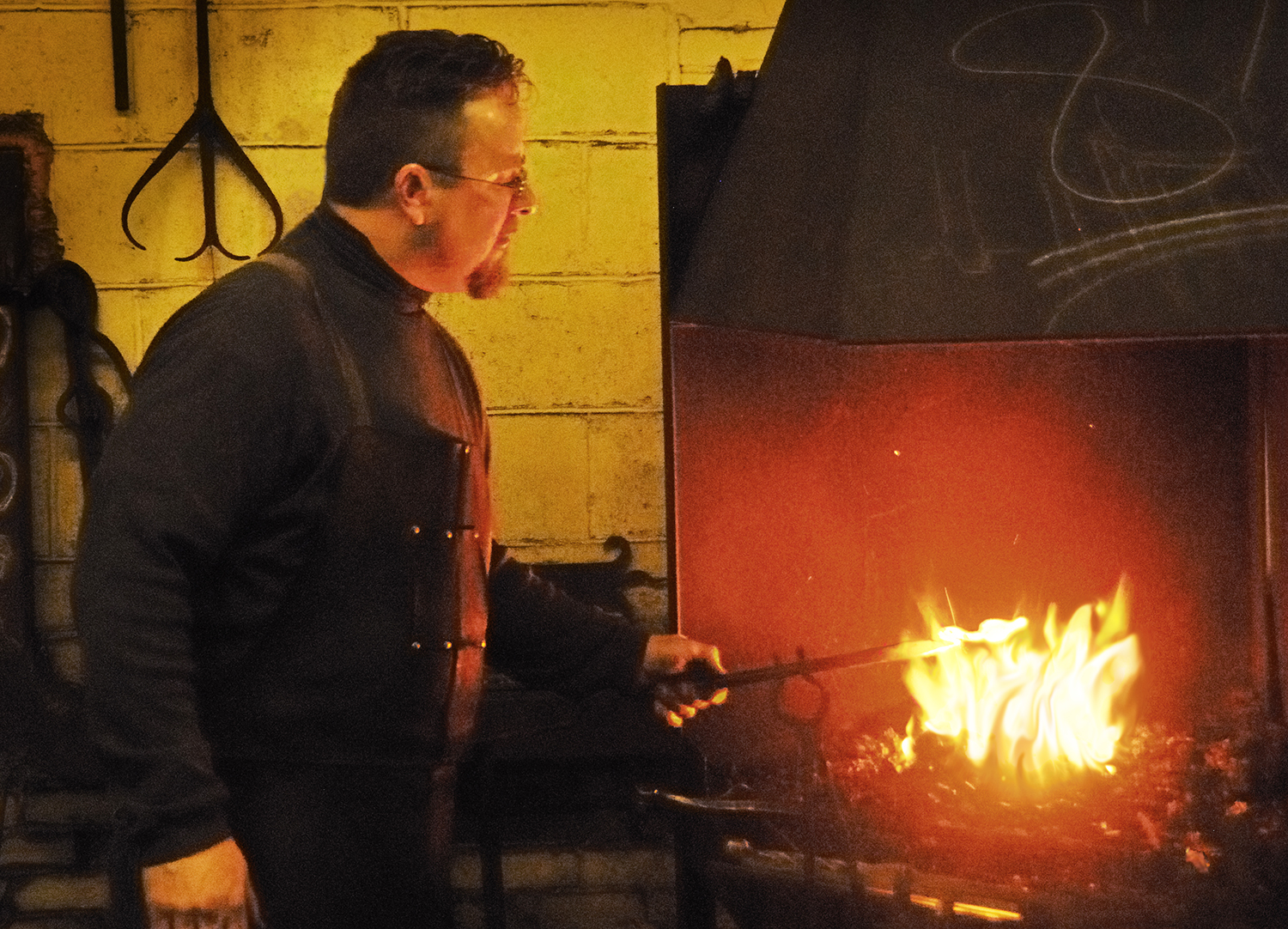 At the Forge by Sally Wiener Grotta for upload
