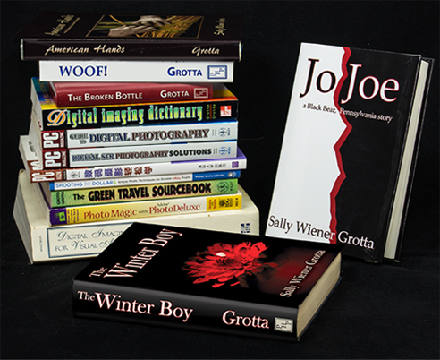 Sally Wiener Grotta's numerous books