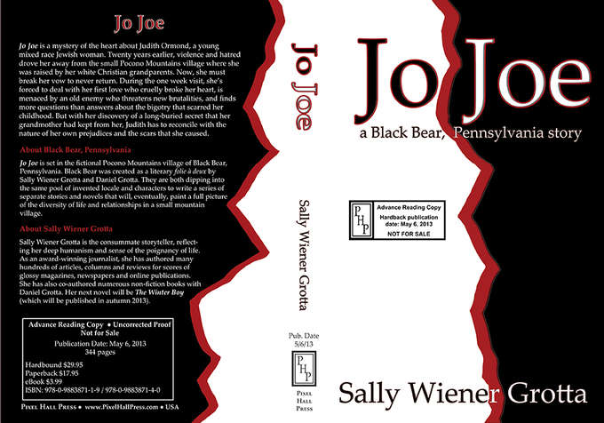 """Jo Joe"" cover for print galleys"
