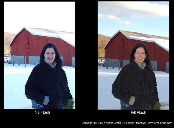 fill_flash versus auto flash_comparison by Daniel Grotta