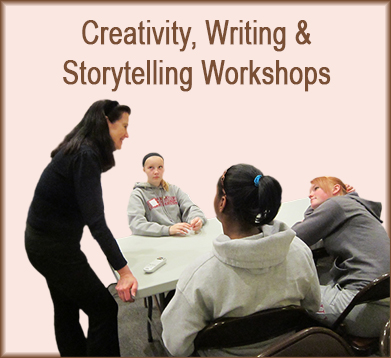 Creativity, Writing & Storytelling workshops with Sally Wiener Grotta