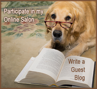 Participate in my online salon - write a guest blog
