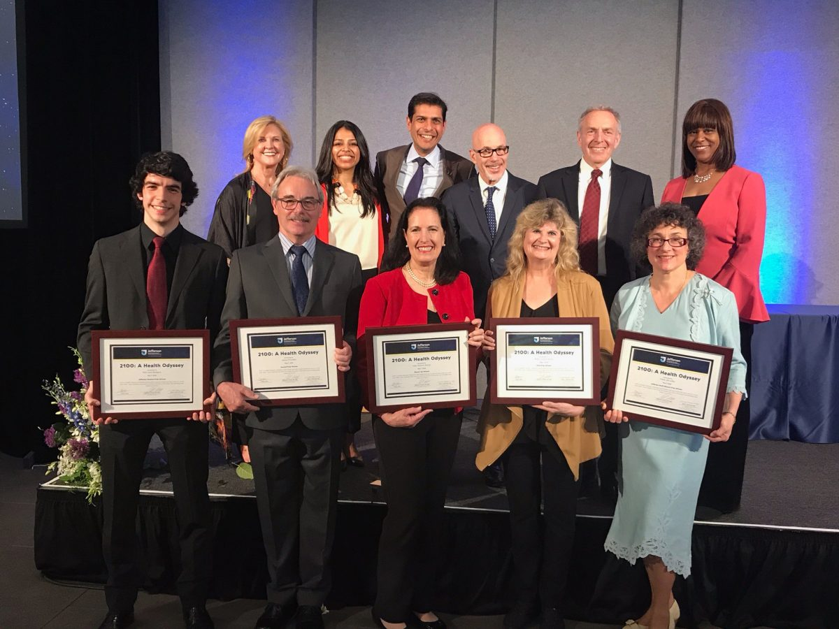 Helath Odyssey Award winners