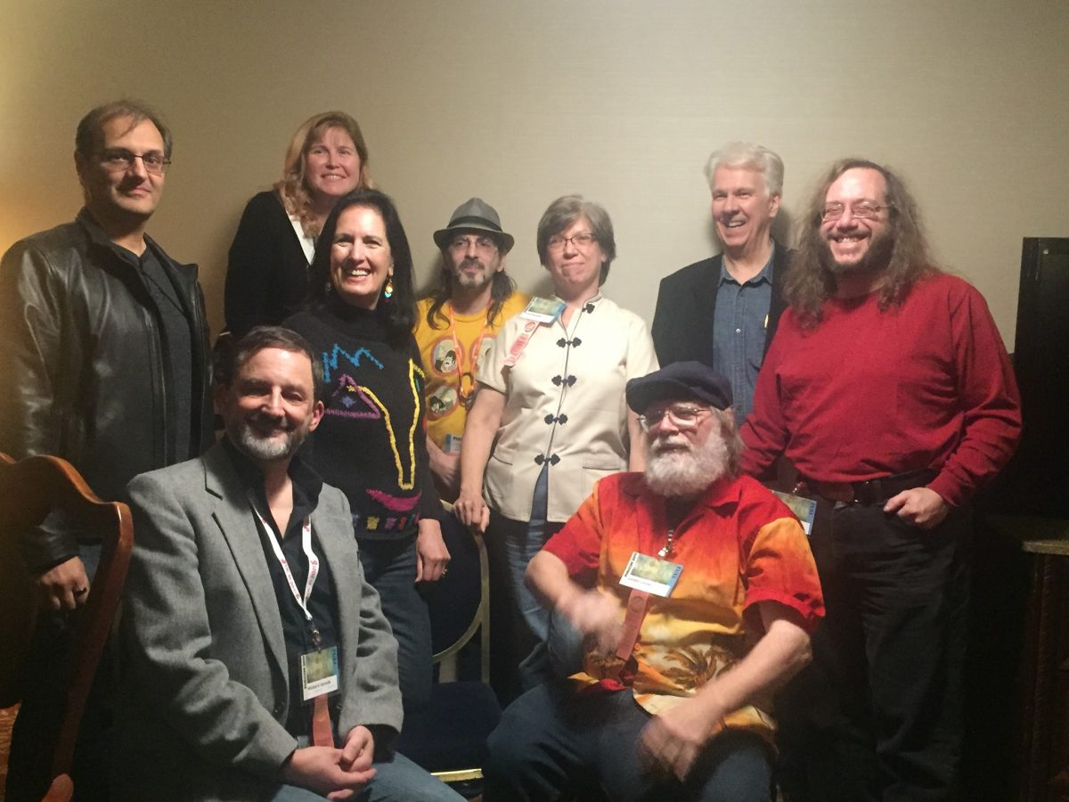 """Across the Universe"" authors at Philcon 2019"