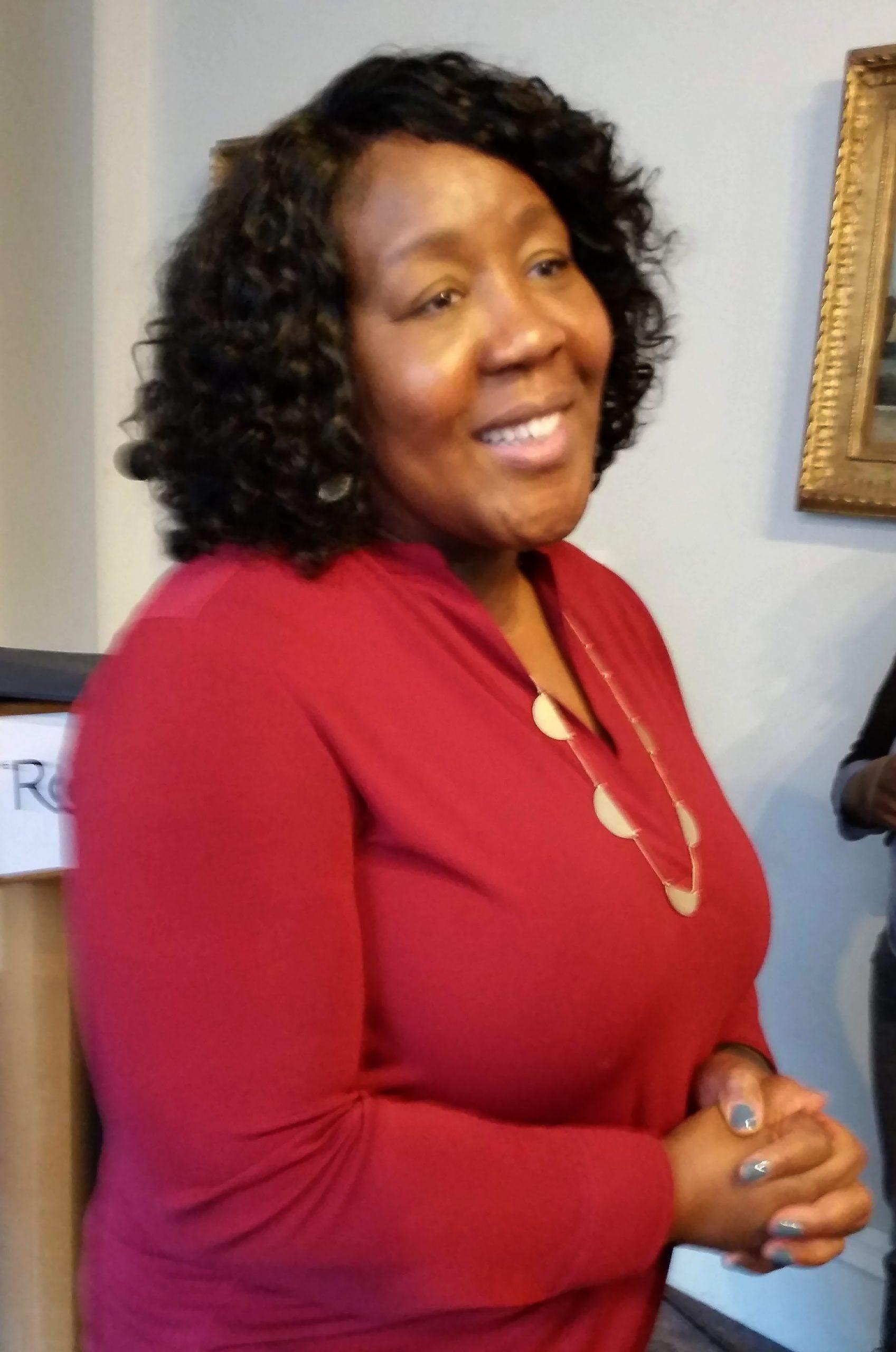 Trapeta B. Mayson, Philadelphia's Poet Laureate, speaking about Toni Morrison at The Rosenbach