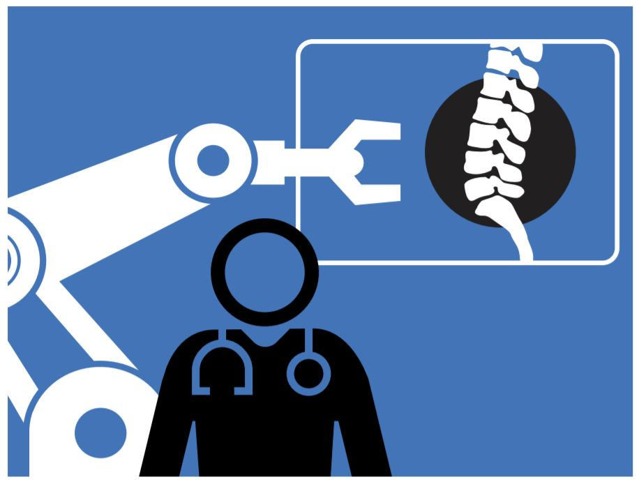 Robot Assisted Surgery, article by Sally Wiener Grotta, image from MIT Technology Review