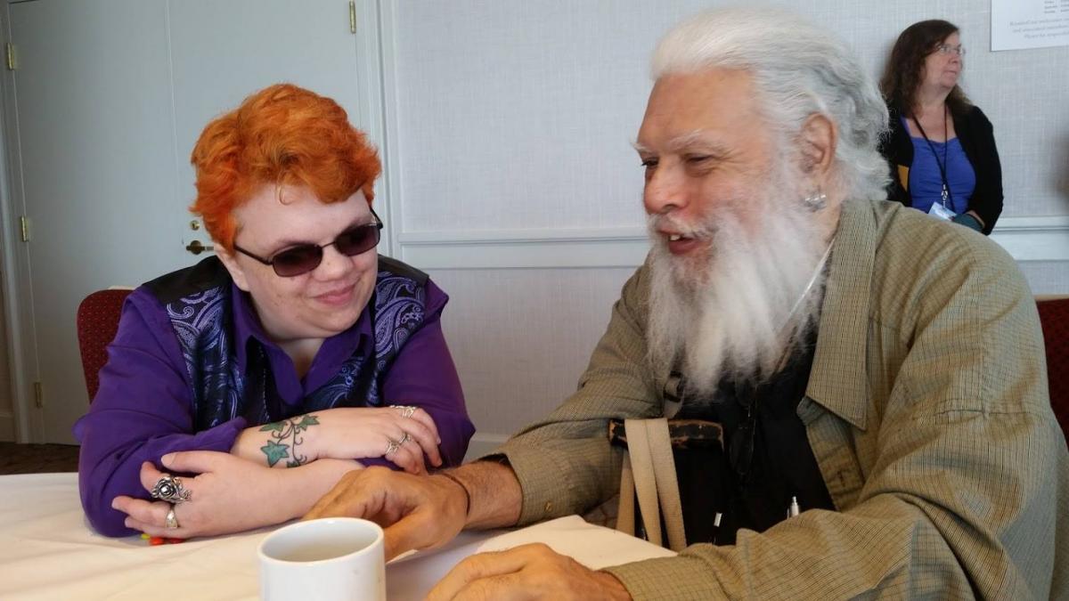 Kestrel Verlager and Chip Delany