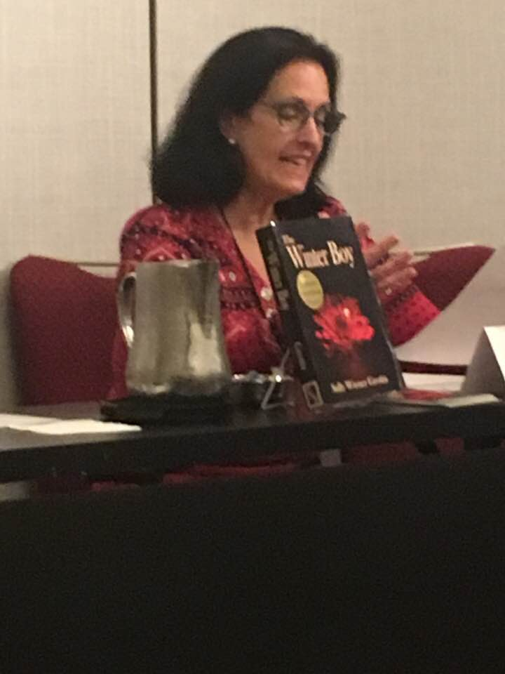 "Sally Wiener Grotta's solo reading at Readercon 2018 was from her novelette ""Beyond Our Hidden Stars"""