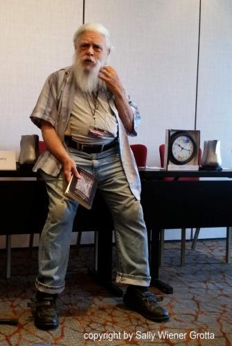 Samuel R. Delany at Readercon 2018.