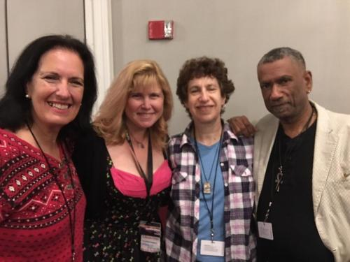 Randee Dawn, Barbara Krasnoff, Sally Wiener Grotta and Terence Taylor at Readercon 2018